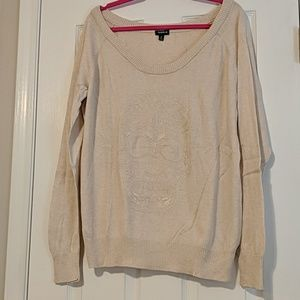 EUC Torrid Skull Sweater Sz 2
